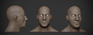 base mesh of face practice