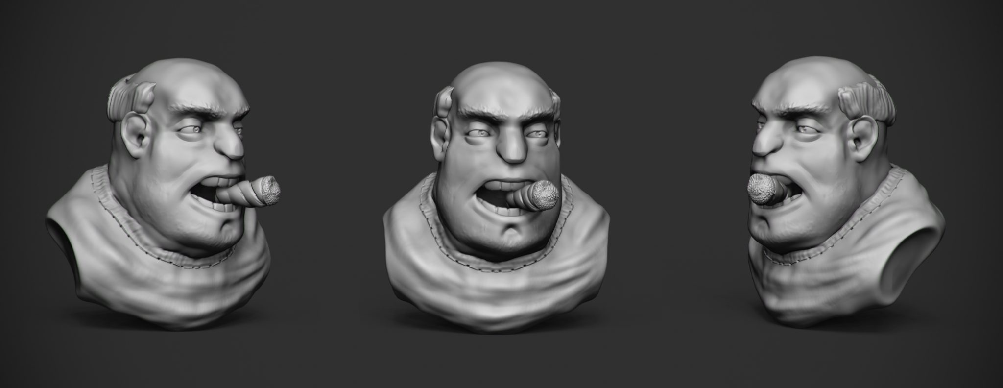 cigar speed sulpt zbrush