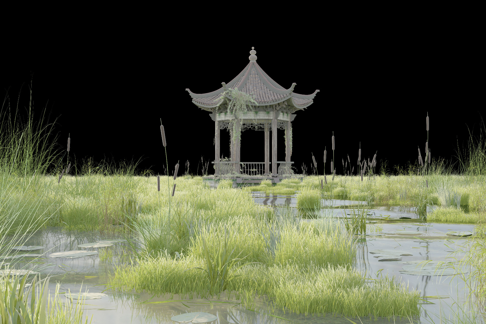 Raw render from vray