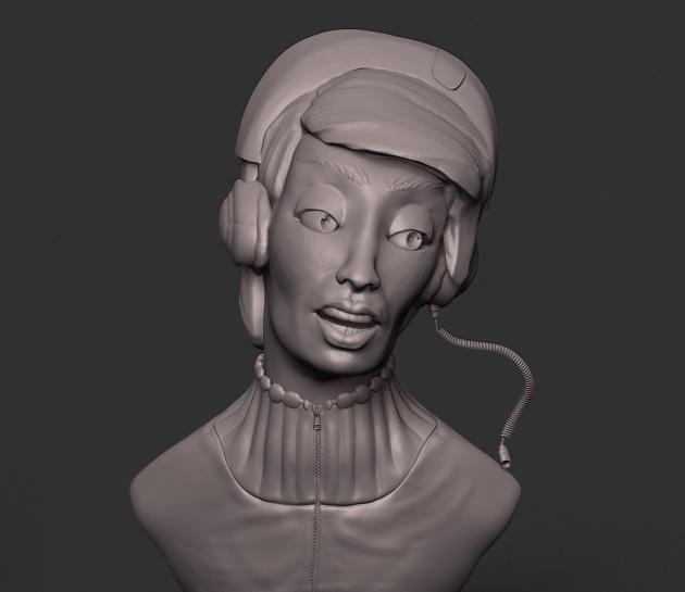 Female bust