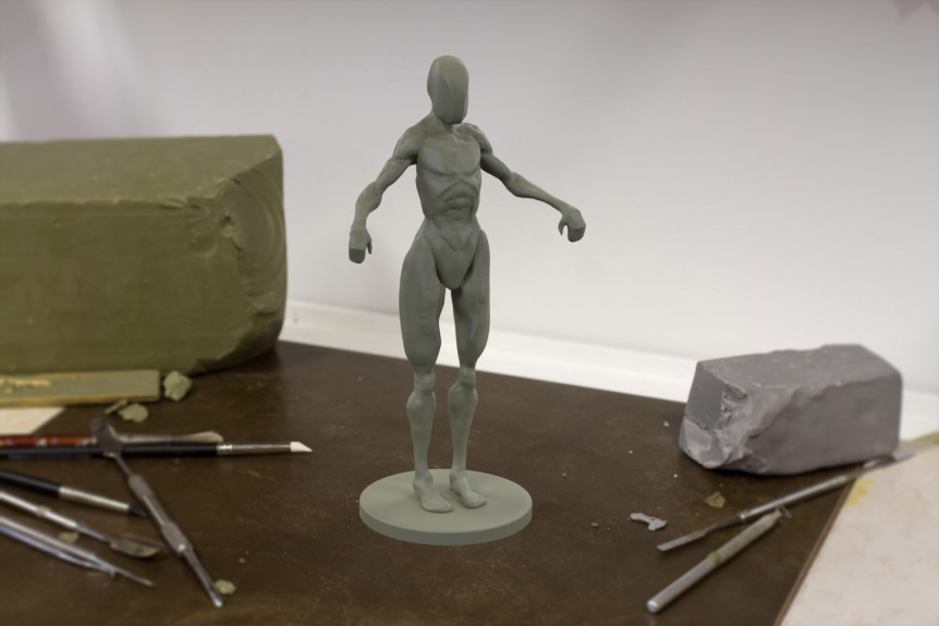 shape and form sculpting practice