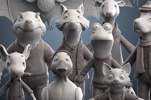 zbrush sculpted characters